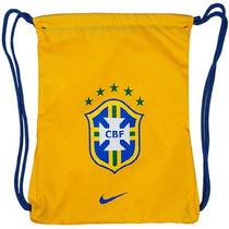 Nike Mochila Tipo Saco Seleccion De Brasil De Futbol