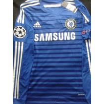 Oferta!! Jersey Chelsea Manga Larga Champions League
