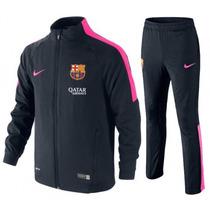 Conjunto De Gala Chamarra Pants Messi Barcelona Nike
