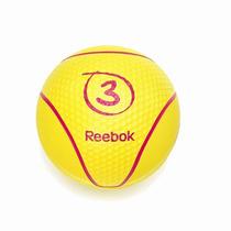 Reebok Balon Medicinal 3kgs Gym Unisex Pesas Barra Remos Gym
