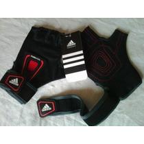 Adidas Guantes Gym Hombre Mujer Cardio Fitness Pesas Hm4