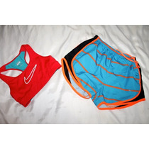 Nike Pro Set Short Y Top Dri Fit Correr Fitnes Talla Chica