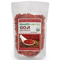 Bayas De Goji 100% Orgánico 2 Paquetes De 453g