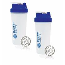 Juego De 2 Botellas Beater Bottle Classic Azul - Bb0118