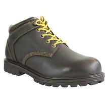 Zapato Industrial 10 Negro Negro Acero Ten-pac