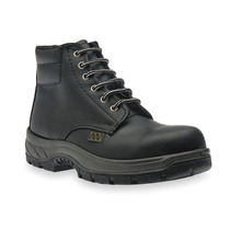 Zapato Industrial 9 Negro Negro Acero Duramax