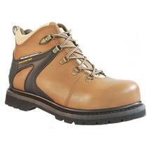 Zapato Industrial 4 Café Acero Hule Ten-pac