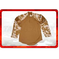 Camisa Militar Británica Original Ubacs Talla L Envio Gratis