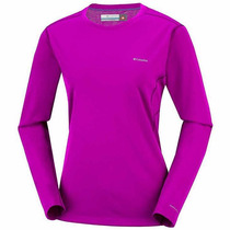 Capa Base Columbia Midweight Ii Top For Ladies - Bright Plum