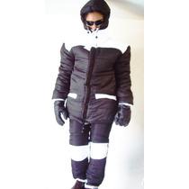 Combo Nieve Parka Chamarra Pantalon Ropa Termica Botas Snow