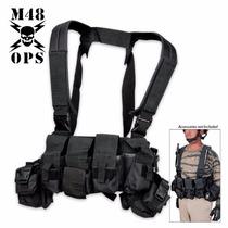 Tirantes Tacticos M48 Con Porta Cargadores Y Cinturon