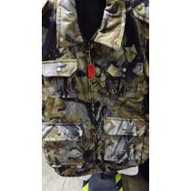 Chaleco Camuflage Camuflaje Mossy Oak Bosque Caceria