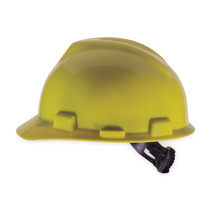 Casco De Seguridad Ala Frontal Amarillo 1 One-touch Msa