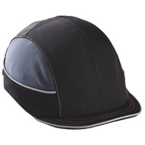 Vented Bump Cap Micro Brim Black One Size Fits All Ergodyne