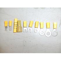 Paquete 100 Pza Terminales Electricas Cable 12-10 Amarill