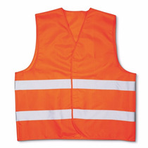 Chaleco De Seguridad Color Naranja Mediano Marca 3m
