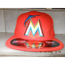 Gorra Miami Marlins 7 New Era Authentic Collection Road