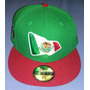 Gorra New Era 59fifty Autentica Mexico Bandera Vbf