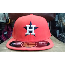 Gorra Houston Astros Varias Tallas New Era Naranja