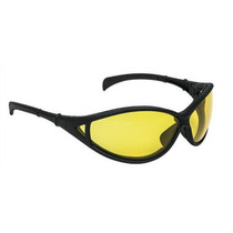 Lentes De Seguridad Intrepid Color Ambar Truper 10830