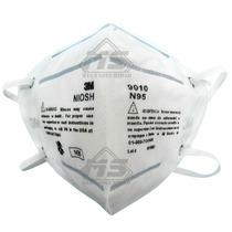 Mascarilla Respirador 3m 9010 Para Particulas N95 Clip Ajust