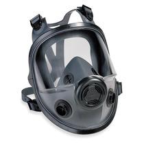 Respirador Rostro Completo Bajo Mantenimiento Cartucho Doble