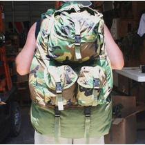 Mochila Militar,equipment Bag. In Woodland Camo