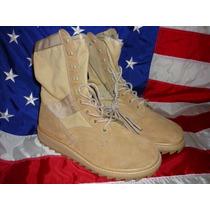 Botas Militares Color Arena Ejército Norte Americano U.s.a.