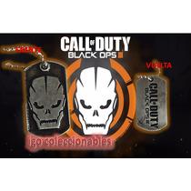 Placa Tag Militar Call Of Duty: Black Ops 3 Igo Mercadoenvio