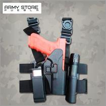 Piernera Estilo Serpa Para Pistola Beretta Modelo 92/96