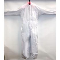 Overol Allkey Antiestatico Blanco Conductivo Nylon