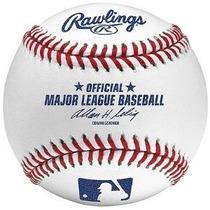 Oficial De La Liga Mayor Baseballs Leather Juego De Rawlings