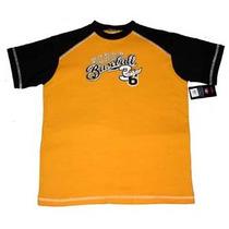 Playera Baseball Infantil Xl Beisbol