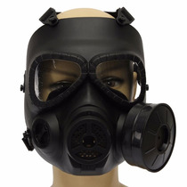 Mascara Tactica Paintball Gotcha Gas Mask Toxic Envio Gratis