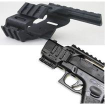 Rieles De Pistola Tactico Militar Replicas Para Mira Lintern