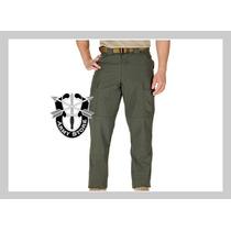 ¡oferta! Pantalón Verde Tdu Ripstop, T/ Chica #74003 5.11