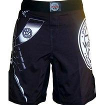 Shorts De Combate Para Mma Marca Woldorf Vbf