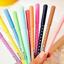 10colors Disponible New Kawaii Corea Gel Conjunto De Lápiz D