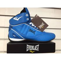 Bota Everlast Entrenamiento Box Azul Original Y Caja