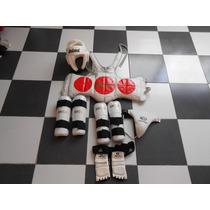 Equipo De Tae Kwon Do,infantil,usado,economico,no Lo Deje Ir