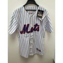 Camisola De Beisbol Equipo Mets Marca Majestic