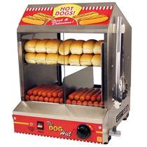 Maquina Comercial Profesional Hacer Hot Dogs Exhibidor