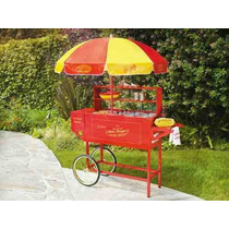 Carro Carrito Hot Dogs Retro Nostalgia Electrics