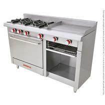 Estufa Coriat Ec-3-h-grill Petit 3quemadores, Plancha, Horno