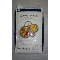 Cloruro De Calcio Grado Alimenticio Saco 25kg
