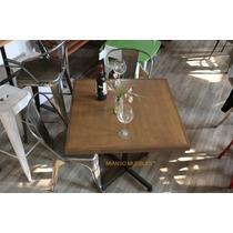Mesa Francia Para Restaurantes, Cafeterias Y Bares