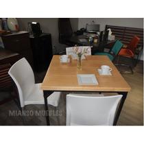 Mesa De Madera Restaurantes Diseño Europeo