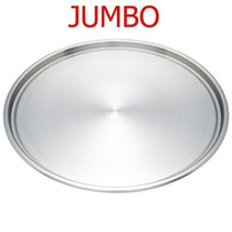 Charolas Para Pizza Reforzada De Aluminio. 45 Cms Dmm