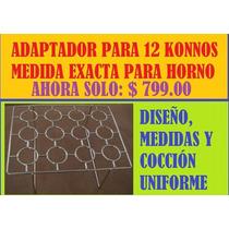 Pizza En Cono. Adaptador Para 12 , Medida Exacta Para Horno