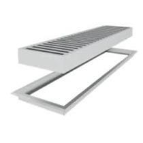 Rejilla De Piso Aluminio 0.60 Precosa